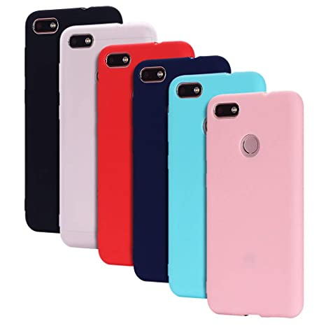 nuovo concetto 11bbc 498a1 6 Pack Cover Huawei Y6 PRO (2017) Custodia Huawei Enjoy 7 ...