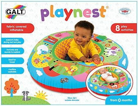 GALT TOYS, PLAYNEST - FARM, BABY ACTIVITY CENTER & FLOOR SEAT, MULTICOLOR