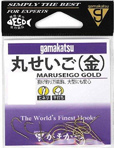 がまかつ(Gamakatsu) 丸セイゴ フック 金 12号 釣り針の商品画像