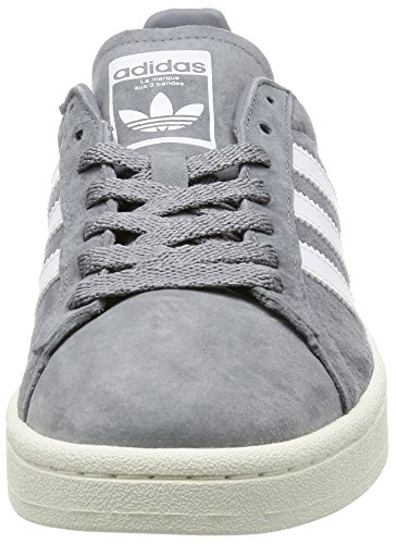 adidas Campus, Zapatillas de Entrenamiento para Hombre Gris (Grey / Footwear White / Chalk White)