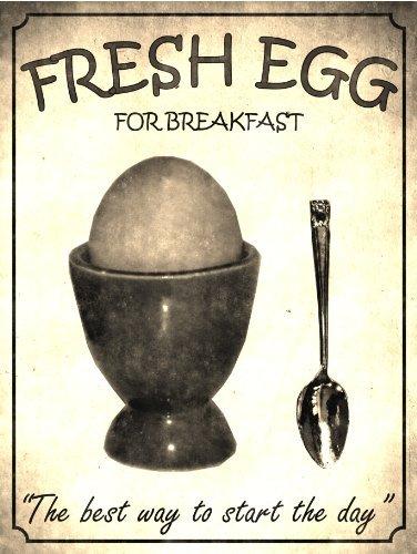 P4145 huevo fresco para el desayuno, la mejor manera de ...