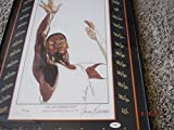 OSCAR ROBERTSON Signed Limited Edition.#430 of 980 17x26 Framed Photo/Print -JSA Auth