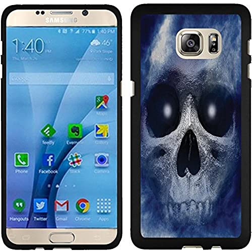 Samsung Galaxy S7 Case, Slim Fit Hard Phone Cover Case by URAKKI - Samsung Galaxy S7 G930 [Blue Smoke Flame Skull] Case Sales
