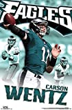 "Trends International RP14080 Philadelphia Eagles Carson Wentz Wall Poster, 22.375"" x 34"""