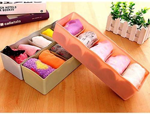 Demarkt Caja de Almacenamiento Compartimiento de Corbata Caja de Almacenaje Compartimentos Organizador Ropa Interior Calcetines Corbatas Cinturones 1PCS