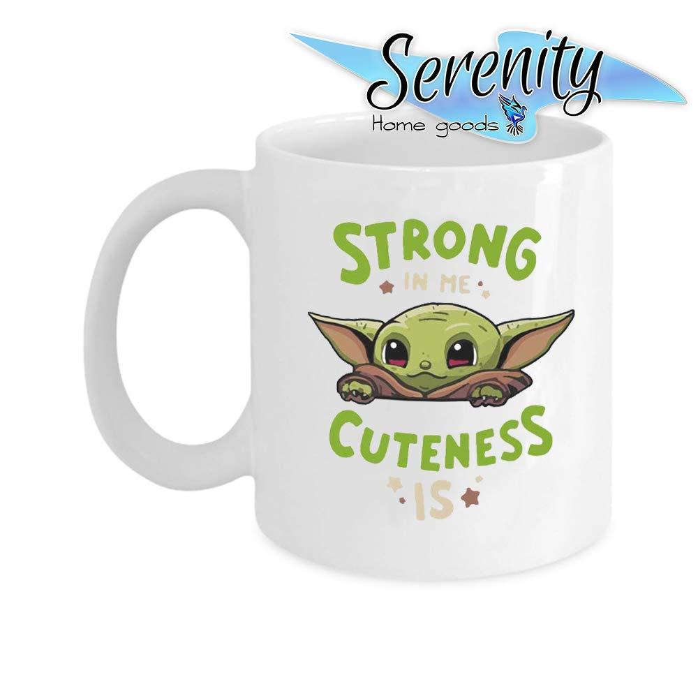 Cute Mandalorian Star Wars Baby Yoda Coffee Mug Cup Tea Cheap 15 ounce 11