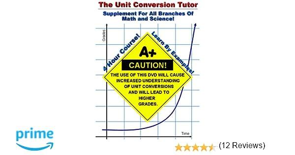 Amazon.com: The Unit Conversion Tutor - 4 Hour Course - Supplement ...