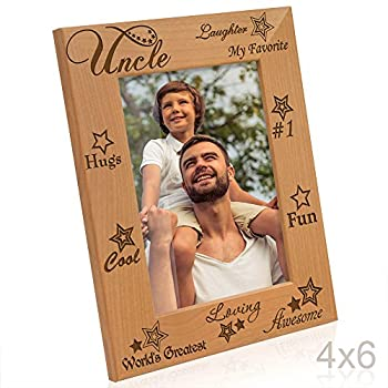 Kate Posh - My Awesome, Cool, Favorite, #1 Uncle Picture Frame (4x6-Vertical)