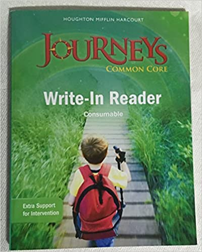 Journeys write in reader volume 2 grade 1 houghton mifflin journeys write in reader volume 2 grade 1 1st edition by houghton mifflin harcourt fandeluxe Image collections