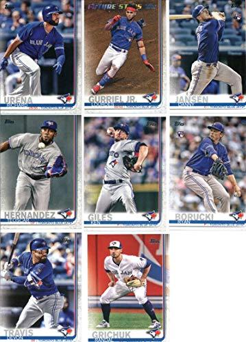 - 2019 Topps Series 1 Baseball Toronto Blue Jays Team Set of 12 Cards: Marcus Stroman(#37), Richard Urena(#39), Danny Jansen(#67), Lourdes Gurriel Jr.(#82), Sean Reid-Foley(#134), Teoscar Hernandez(#152), Ken Giles(#184), Rogers Centre(#245), Ryan Borucki(#246), Devon Travis(#298), Randal Grichuk(#309), Russell Martin(#348)