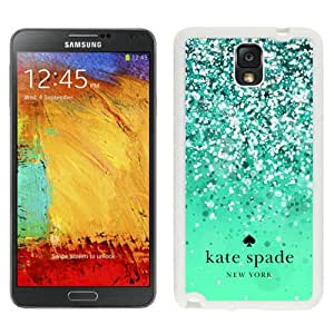 Kate Spade (1) White Abstract Design Custom Samsung Galaxy Note 3 N9005 Case