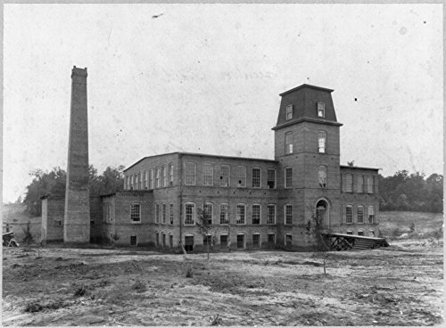 1899 Photo Coleman Manufacturing Co., a Negro operated cotton mill, Concord, - Mills Concord Map