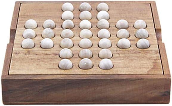 Solitaire jeu classique en bois