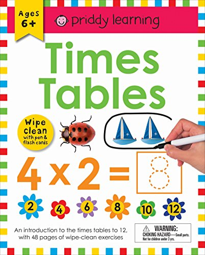 Wipe Clean Workbook: Times Tables (enclosed spiral binding) (Wipe Clean Learning ()