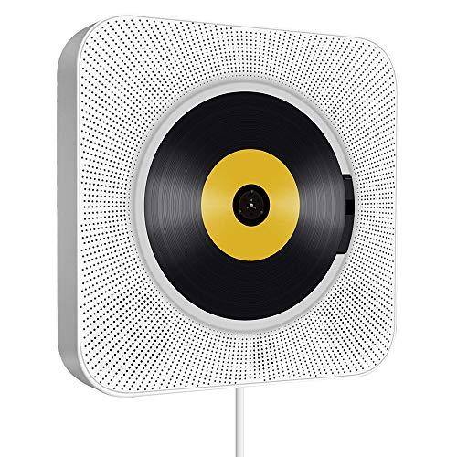 Promise2134 Cd Player Bluetooth draagbare cd-muziekspeler voor wandmontage home repeat cd speler voorgeboorde opvoeding…