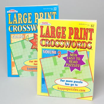 Ddi Crossword Puzzle Large Print (pack Of 120) by DDI