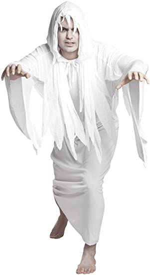 Espíritu fantasma Ghost Halloween Disfraz Señor Disfraz: Amazon.es ...