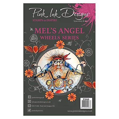 Pink Ink Designs Clear Stamp - Mel's Angel (PI040)