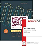 How to Write Anything with Readings 3e with 2016 MLA Update and LaunchPad for How to Write Anything 3e (Six Month Access) 3rd Edition