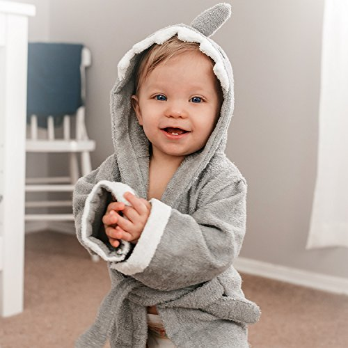 soft-shark-baby-bathrobe-highest-quality-100-cotton-hypoallergenic-easy-to-wash-hooded-and-absorbent