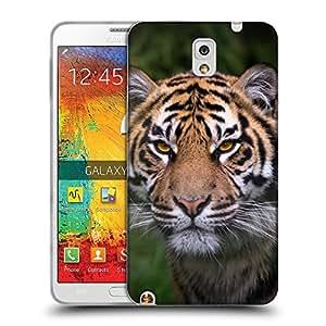 Super Galaxy Coque de Protection TPU Silicone Case pour // V00000005 Tigre // Samsung Galaxy Note 3 III N9000 N9002 N9005