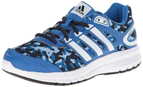 adidas Performance Duramo 6 K Running Shoe, Bright Royal/White/Navy, 3.5 M US Big Kid
