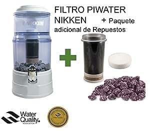 Nikken Piwater Filtro Agua Paquete Repuestos Adicional