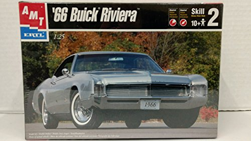 - AMT 1966 Buick Riviera 1/25 Scale Plastic Model Kit NEEDS ASSEMBLY