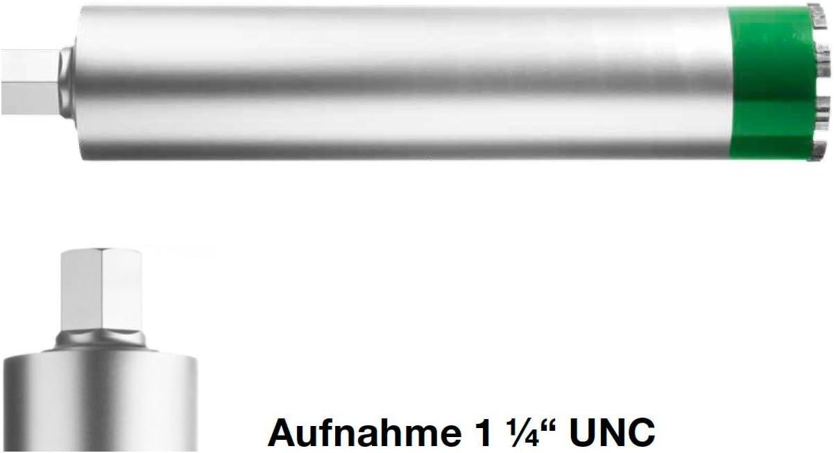 hormig/ón y mamposter/ía Corona de diamante para hormig/ón NOZAR orificio de 1 1//4 UNC, di/ámetro de 42 mm, profundidad de perforaci/ón de 400 mm