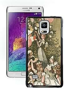 Custom-ized Design Christmas Tree Black Samsung Galaxy Note 4 Case 5