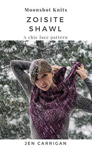 Zoisite Shawl: A Chic Lace Knitting Pattern | accessory knitwear