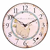 Cheap Roger Lascelles Pears of Provence French Wall Clock, 14.2-Inch