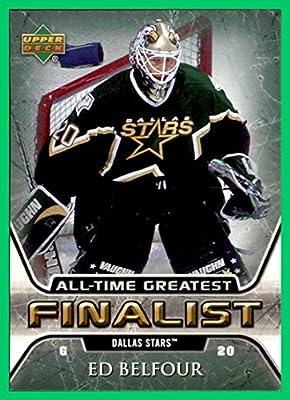 2005-06 Upper Deck All-Time Greatest #20 Ed Belfour DALLAS STARS
