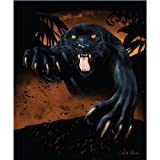 (US) New Signature Collection Queen Size Black Panther Korean Mink Blanket