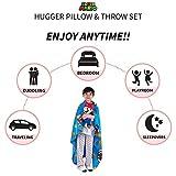 Franco Kids Bedding Soft Plush Throw and Hugger