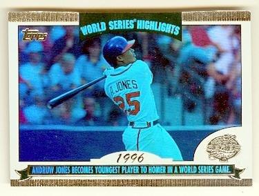 Andruw Jones Baseball Card Atlanta Braves All Star 2004 Topps