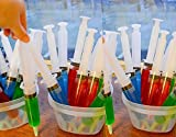 Party Tonight Jello Shot Syringes 25 Pk 1.5 oz with Caps, Party Favor Idea Great for All Occasions: Bachelor Parties , Bachelorette Parties , Hen Nights , School Prom Bars , Nightclubs or All Party