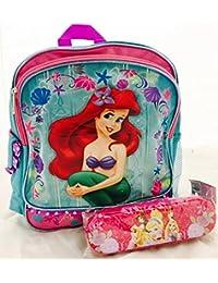 Walt Disney Ariel Mermaid Toddler Backpack and Princess Pencil Set