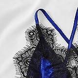 WUAI Womens Lace Sleepwear Temptation Underwear