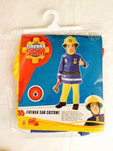 [New Fireman Sam Boys Fancy Dress Costume Dress Up Outfit [2-3Y]] (Childrens Fancy Dress Costumes Uk)