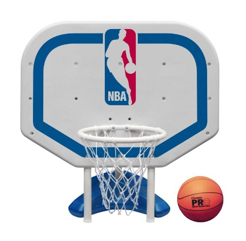 Poolmaster 72931 NBA Logo Pro Rebounder-Style Poolside Basketball Game