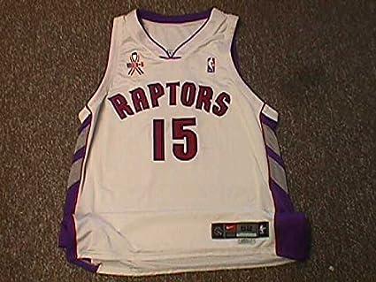 sports shoes d501c d6f75 Vince Carter. Toronto Raptors 2000-2004 Home Nike Game ...