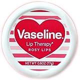 ハート柄限定缶! Vaseline Lip Therapy <ヴァセリン リップセラピー> 17g Rosy Lips <ロージーリップ> Vaseline Lip Therapy Rosy Lips