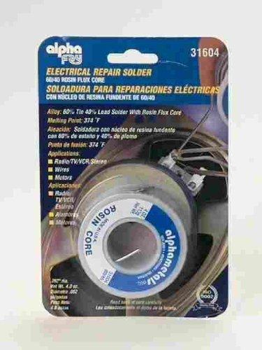 Alpha Fry AM31604 60/40 Electrical Rosin Core Solder - - Amazon.com