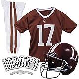 Franklin Sports NCAA Alabama Crimson Tide Kids College Football Uniform Set - Youth Uniform Set - Includes Jersey, Helmet, Pants - Youth Small