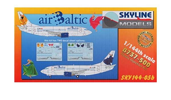 DACSKY14405B 1 144 Skyline Models Boeing 737 500