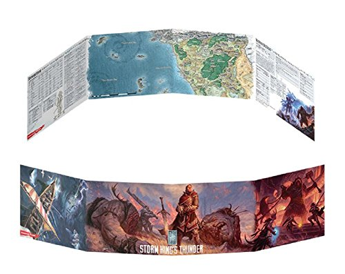 Dungeons & Dragons Storm Kings Thunder DM Screen Game