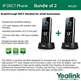 Yealink W52H - Bundle of 2 SIP Cordless Phone System for business solutions