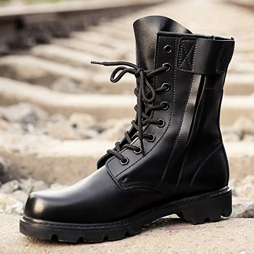 FFBHXZ Hombre Zapatos De Seguridad De Acero Gorra Tipo Militar ...