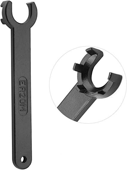 ER20M Wrench For Clamping Nut CNC Milling Lathe Precision Spanner Tools